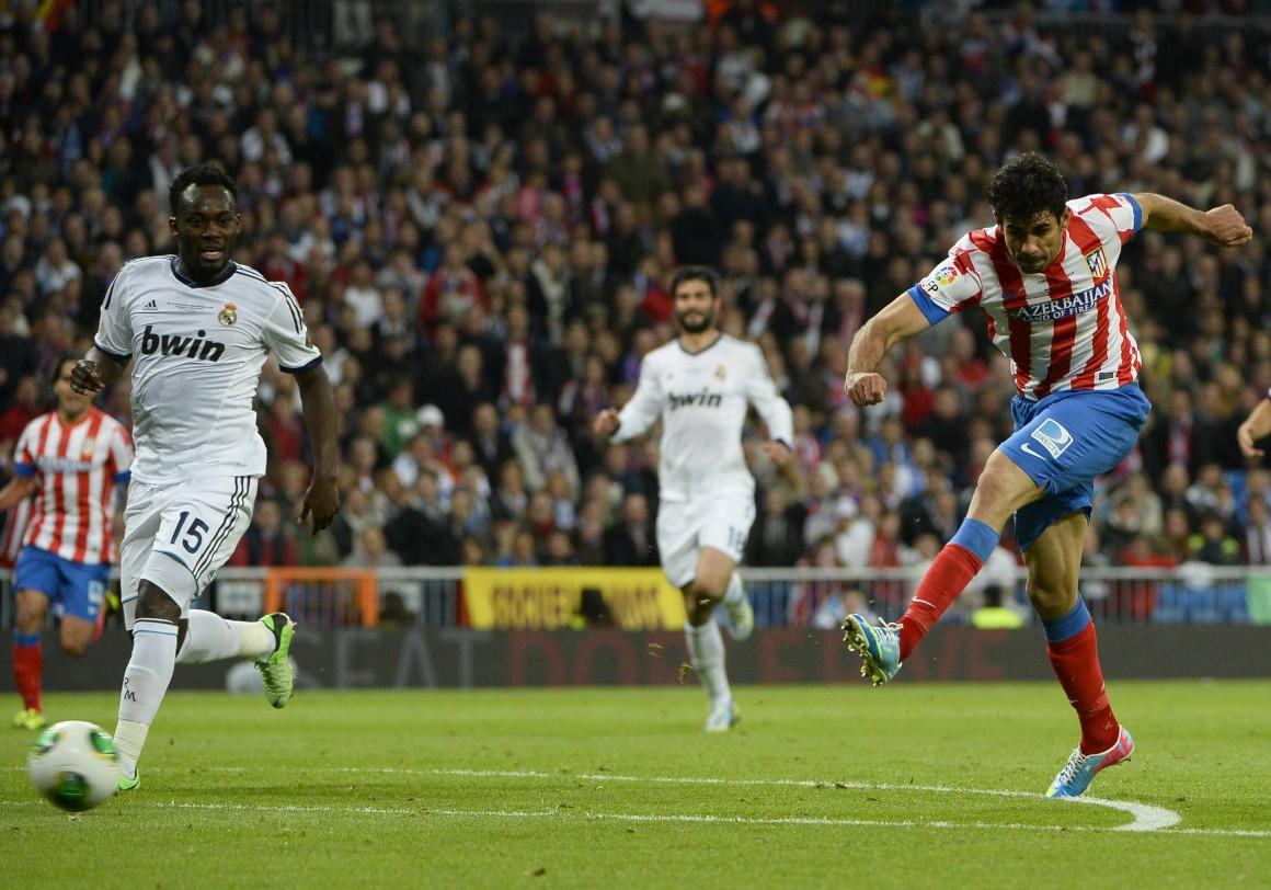 Atlético ganhou a Taça em casa do Real de Mourinho