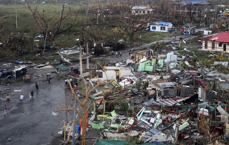 Tacloban foi a cidade mais afectada