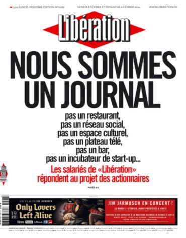 """A """"marca"""" Libération"""